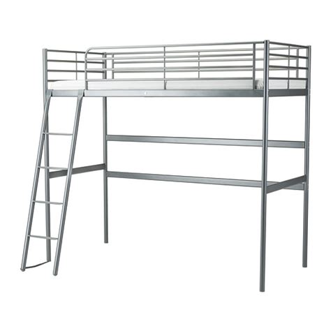Lofted Bed Frames Sv 196 Rta Loft Bed Frame Ikea