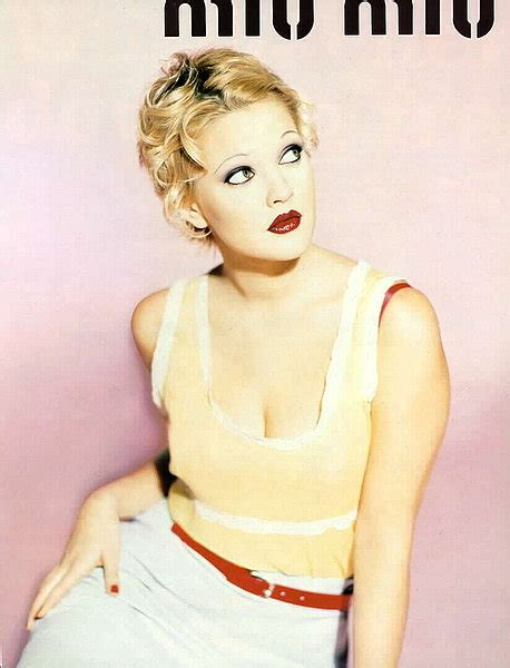 Drew Barrymore Looking Gorgeous In Vintage Costume by Retro Vintage Fashion Ads Tessiestyleblog