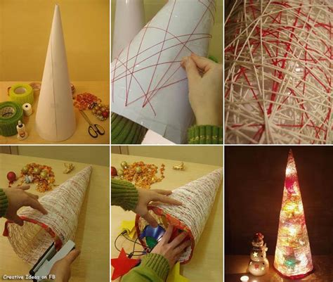 Simple Handmade Decorations - easy diy tree pictures photos and images for
