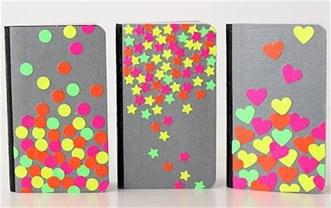 ways  decorate  notebooks  family crafts