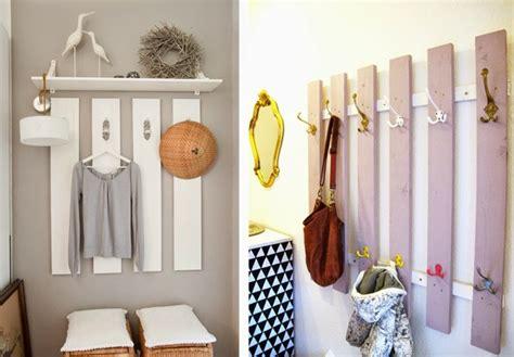 wohnideen vorraum diy decoracion manualidades de papel cart 243 n y madera