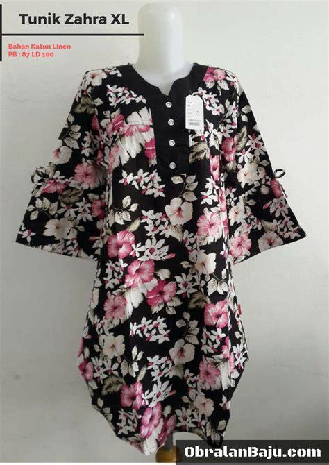 Grosir Murah Tunik tunik zahra xl pusat grosir baju pakaian murah meriah