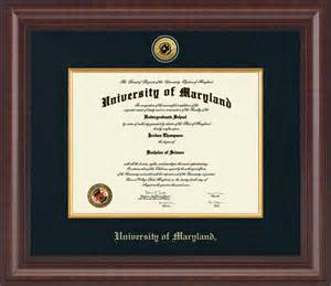 of maryland diploma frame of maryland college park presidential gold