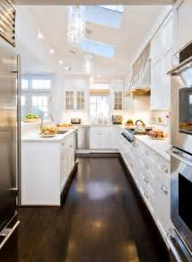 Long Kitchen Design Ideas Interior Designs For Long And Narrow Kitchens
