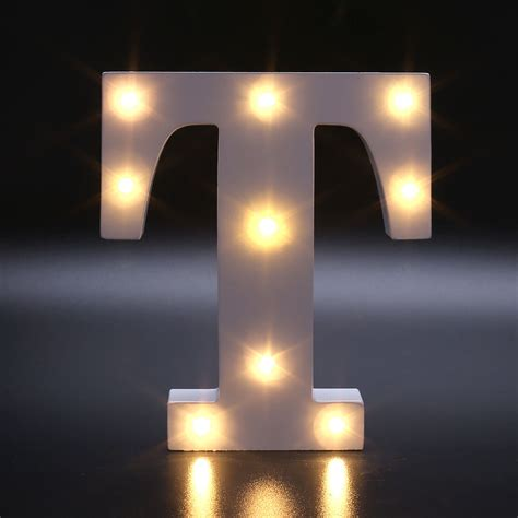 white lights for bedroom creative 26 letters led warm white light bedroom wall