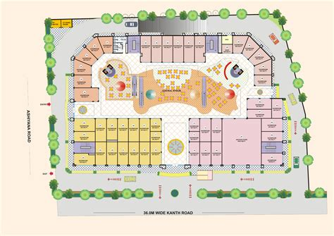 floor plan mall invest in moradabad shops on lease in moradabad