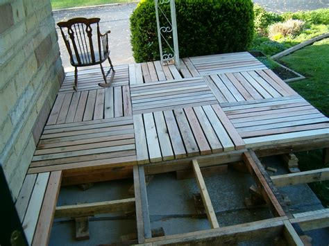 Building A Wooden Porch redo redux revisiting past projects pallet wood front porch