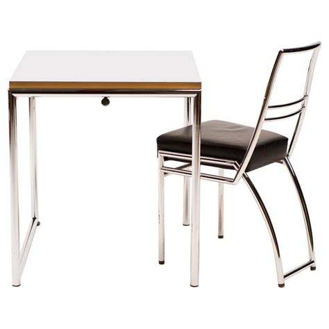 eileen gray jean table eileen grey jean table and axia chair at 1stdibs