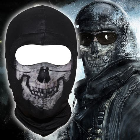 Masker Tengkorak Balaclava Skull ghost balaclava breathable skull tactical