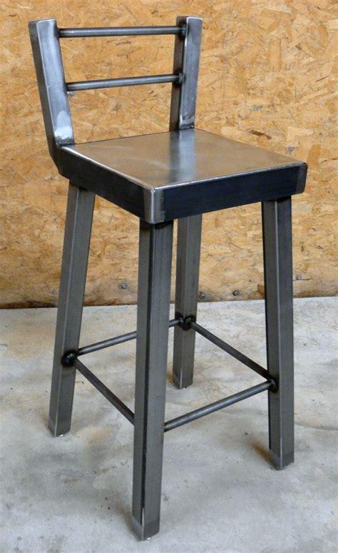 Industrial Metal Bar Stool Industrial Steel Bar Stool No 002