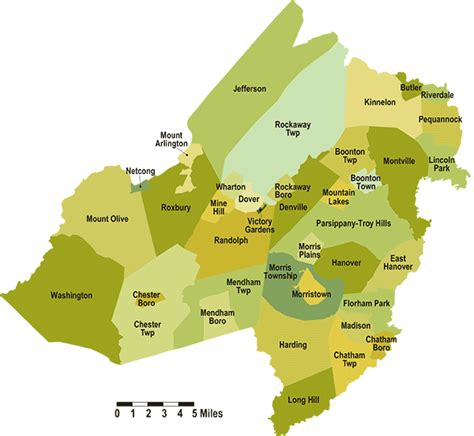 Morris County Nj Records Morris County Nj Map Laminatoff