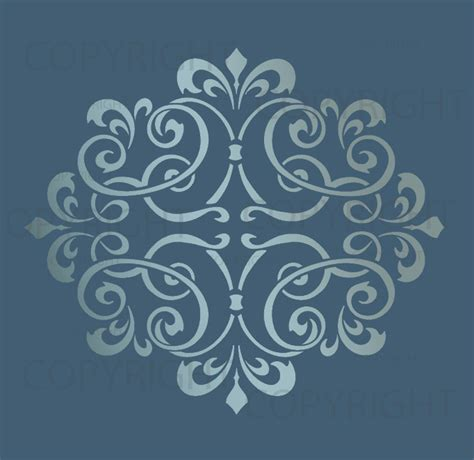 free printable home decor stencils 9 best images of printable large wall stencil designs