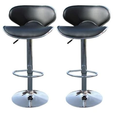 amerihome 33 in adjustable bar stool shop stool set of 2