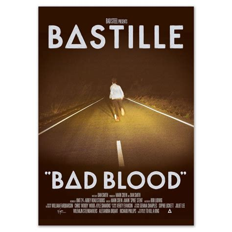 membuat poster bad blood bastille poster store home bastille posters