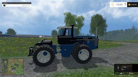 ford versatile  tractor  fs mod farming simulator   mod