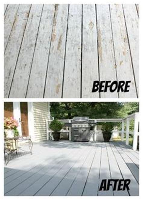 refinish wood porch floor autumn diy project