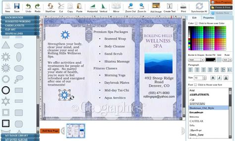 microsoft word tri fold brochure template 28 images
