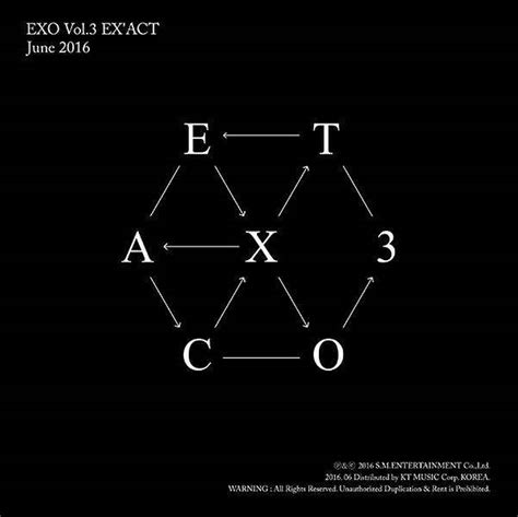 exo discography download album exo ex act 3rd album chinese version