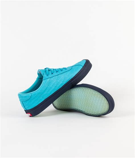 Awesome X Vans Epoch 94 Pro vans x awesome epoch 94 pro shoes bright blue flatspot