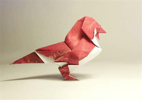 How To Make An Origami Sparrow - sparrow by diaz origami photos