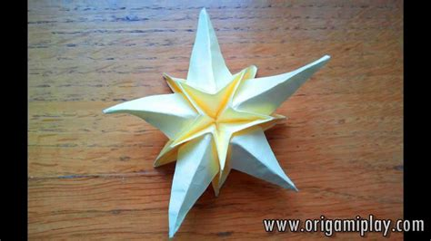Origami Starfish - sea origami