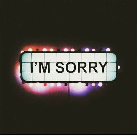 sorry day i am single i am sorry quotes for apologies for