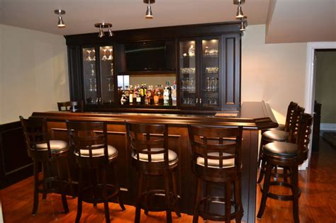 basement bar traditional basement toronto by the