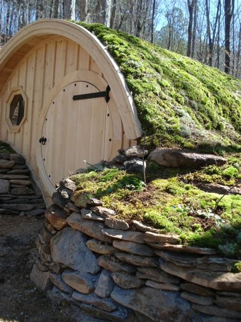 hobbit hole cottage rustic portland maine by wooden