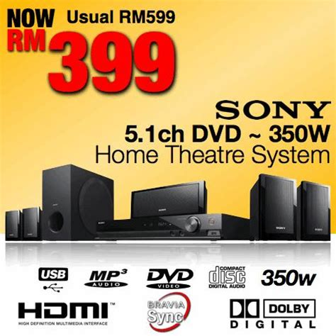 Home Theater Sony Malaysia sony 5 1 hdmi dvd home theatre syste end 9 25 2012 3 15 pm