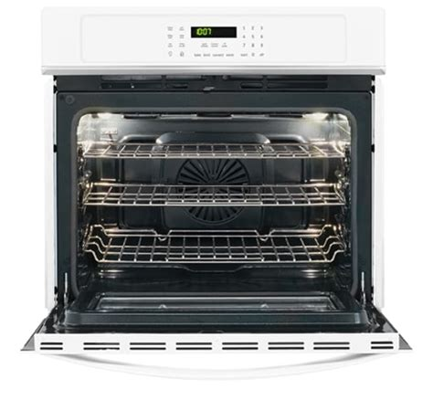 frigidaire gallery 30 single electric wall oven white