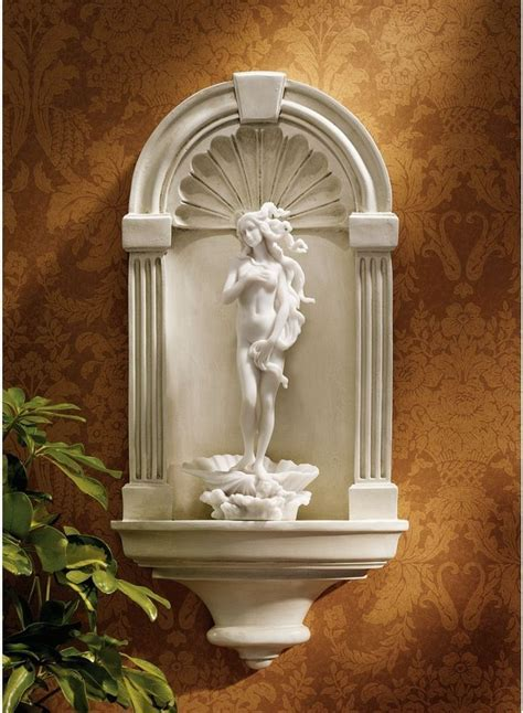 Sculptures Home Decor by Renaissance Arch Wall Niche Medium Wall Sculpture