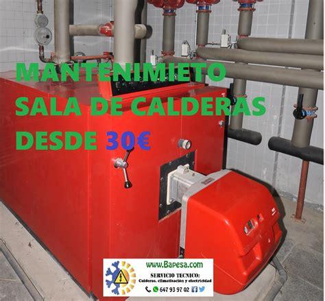 salas de calderas nuevo mantenimiento salas de calderas pontevedra bapesa