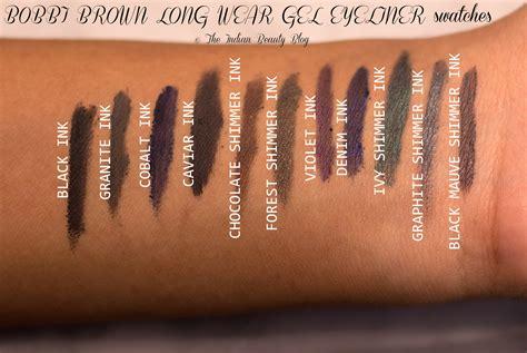 Picking Colors by Bobbi Brown Long Wear Gel Eyeliner Swatches