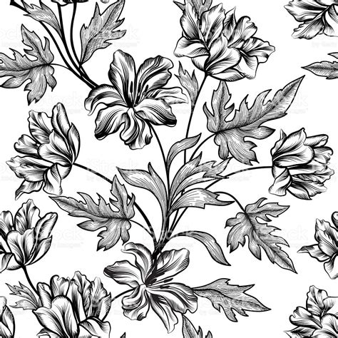 flower pattern history floral background flower pattern flourish seamless texture