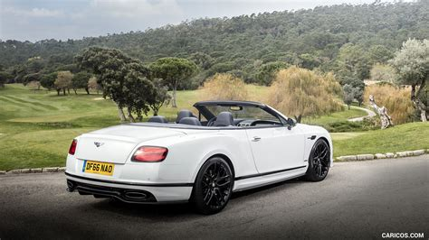 white bentley back 2018 bentley continental gt supersports convertible color