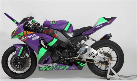 Car Wallpapers Racing Motorcycle by Evangelion Racing Motorcycle To Compete In July
