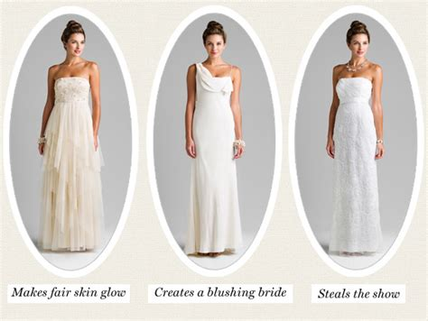 ivory vs white wedding dresses pictures ideas guide to buying stylish wedding dresses