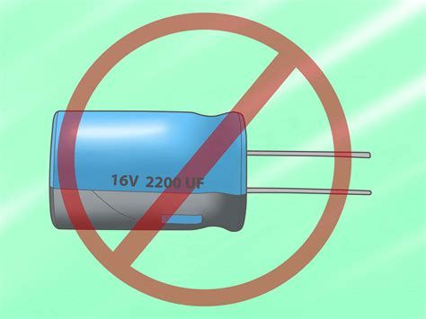 discharge capacitor value how to discharge a capacitor 5 steps with pictures wikihow