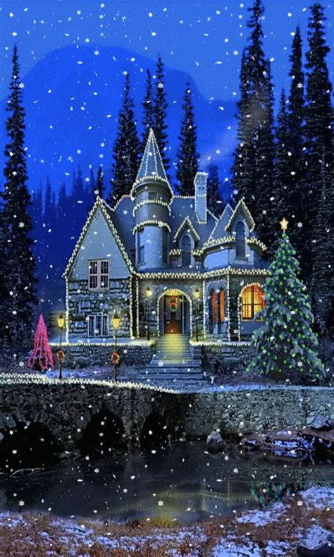 christmas wallpaper that moves animated christmas wallpaper for your phone sparkles and