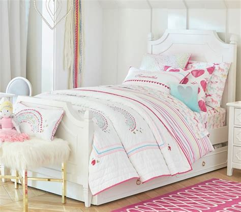 pottery barn kids bedding rainbow quilt pottery barn kids
