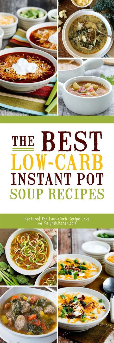the instant pot soup cookbook best soup recipes for your electric pressure cooker books the best low carb instant pot soup recipes kalyn s kitchen