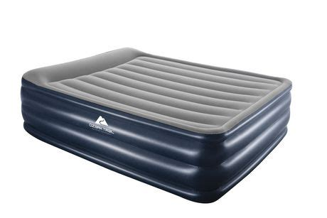 ozark trail flocked airbed with built in walmart canada