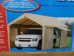 Costco Car Canopy by Costco 10x20 Steel Frame Canopy Submited Images