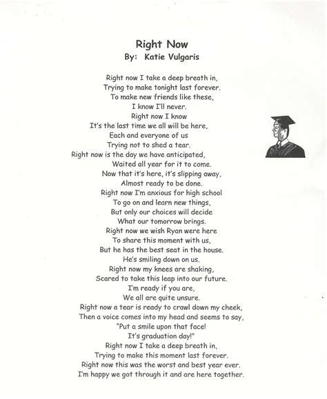 Grade Promotion Letter graduating 8th grade poems graduation poems