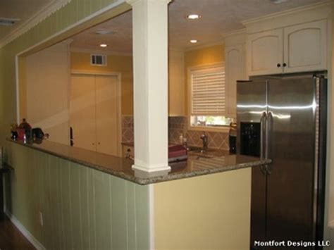 open galley kitchen designs opening to basement stairs home renovation dreams