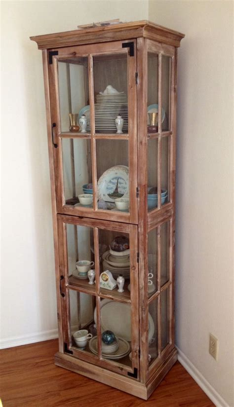 Hutch Cost cost plus world market curio cabinet used as china hutch