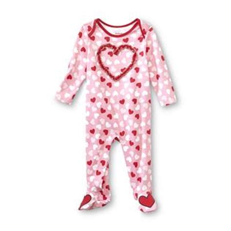 valentines day pajamas editions newborn s s day footed