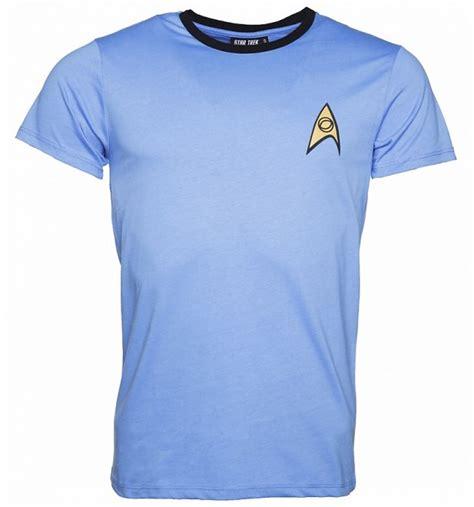 Trek 2 Mens T Shirt s blue spock trek costume t shirt