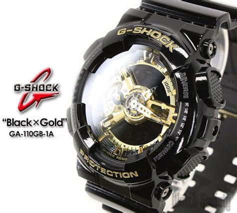 Casio G Shock Original Pria Ga 110gb 1a casio g shock black x gold limited ga110gb ga 110gb 1a ebay