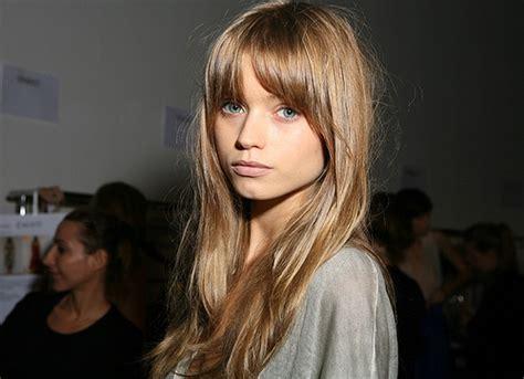 models with bangs abbey lee bangs fringe girl hair image 124182 on